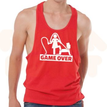 canotta unisex game over